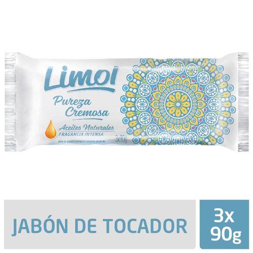 Jabón Limol Pradera De Jazmín 3 U