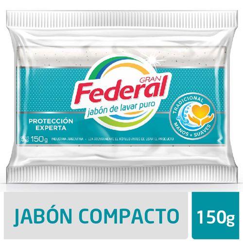 Jabon Gran Federal Maxima Blancura 150gr