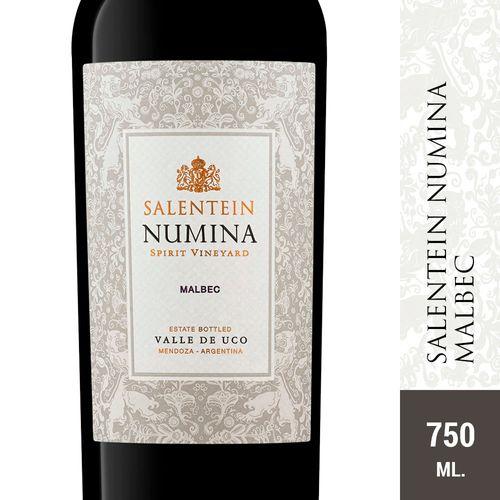 Vino Tinto Numina Malbec Salentein 750 Ml