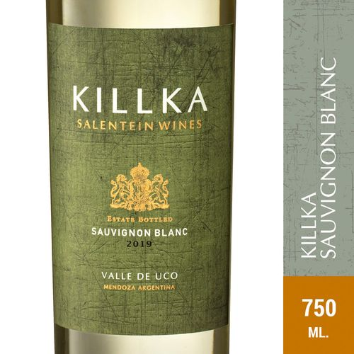 Vino Blanco Sauvignon Blanc Killka 750 Ml
