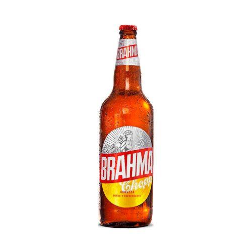 Cerveza Brahma Chopp Rubia 1lt Retornable