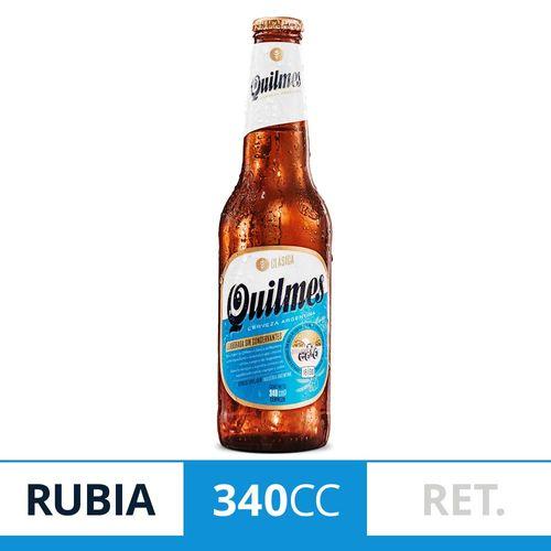Cerveza Quilmes Clasica 340cc Ret