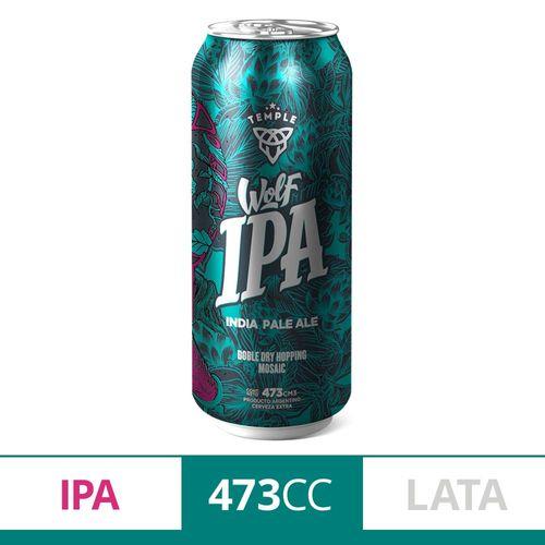 Cerveza Temple Wolf Ipa 473 Cc