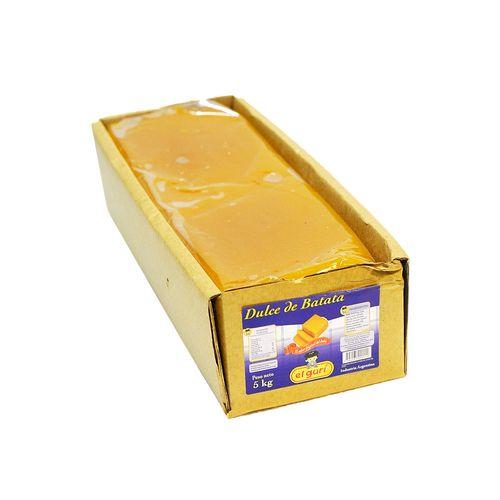 Dulce De Batata El Guri Bar-1-kg