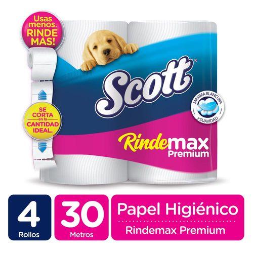 Papel Higiénico Scott Rindemax Doble Hoja