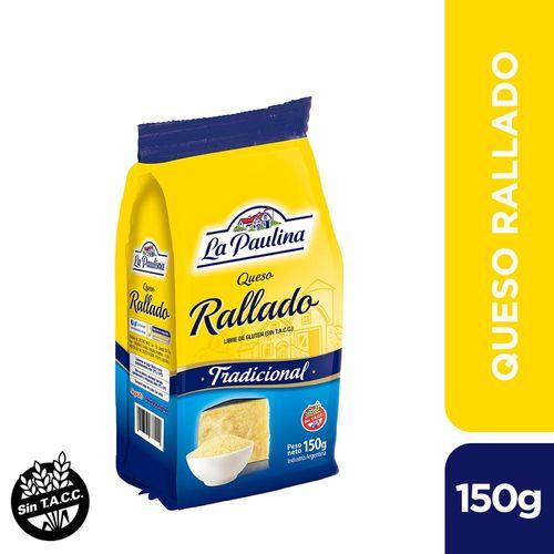 Queso Rallado La Paulina 150 Gr