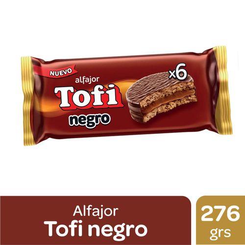 Alfajor Tofi Negro 276 Gr