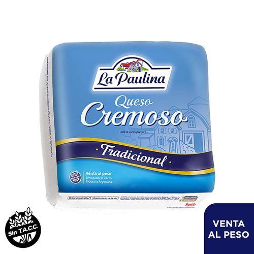 Queso Cremoso La Paulina 1/4 Hma - Mínimo 1 Kg Mayorista.