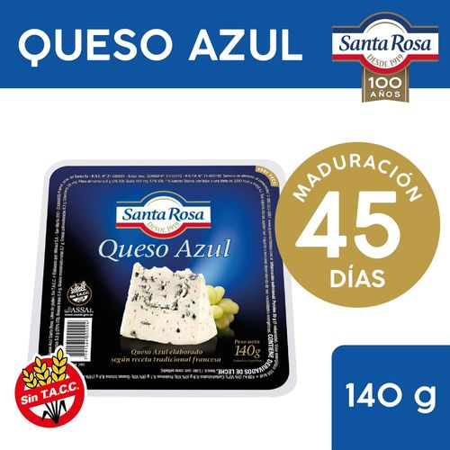 Queso Azul Santa Rosa 140 Gr