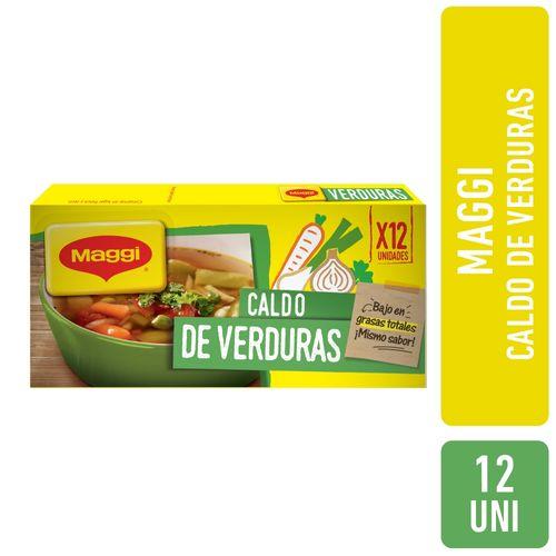 Caldo Verduras Maggi 12 U