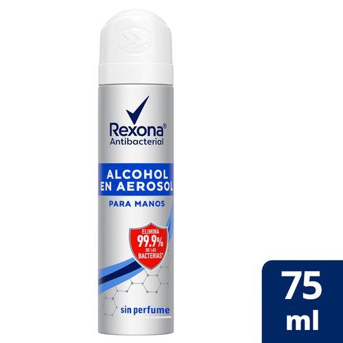 Alcohol En Aerosol Rexona Antibacterial 75 Ml