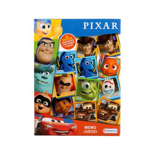 Memo Juego Base De Goma Pixar