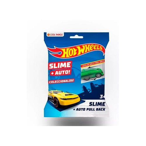 Auto Rally Hot Wheels Con Slime