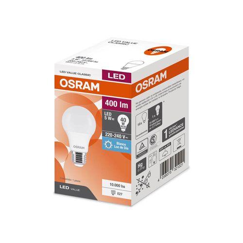 Lámpara Osram Led Valueclas 5w/865 Fria