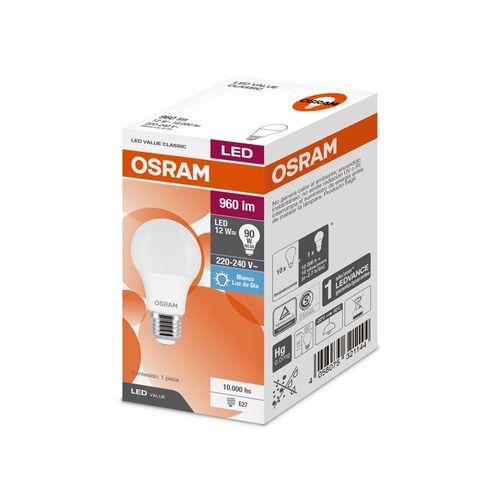 Lámpara Osram Led Valueclas 12w/865 Fria