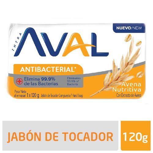 Jabon Aval Avena - 120 Gr