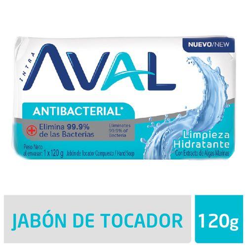 Jabon Aval Limpieza - 120 Gr