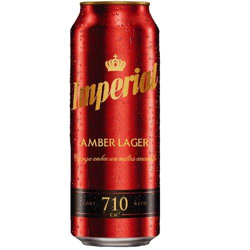 Cerveza Imperial Amber Lager 710cc