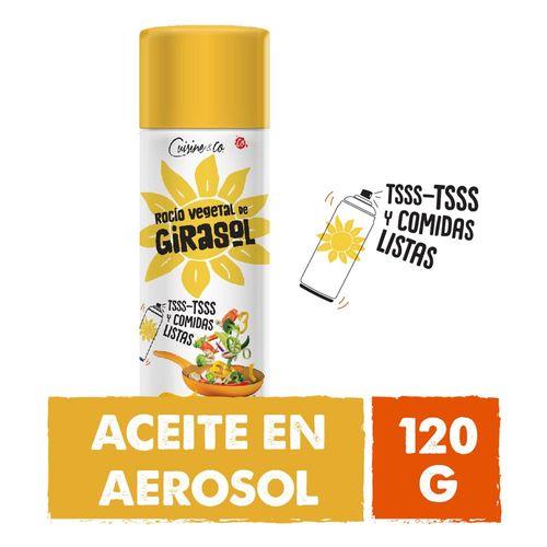 Aceite  De Girasol 120 Gr Cuisine & Co
