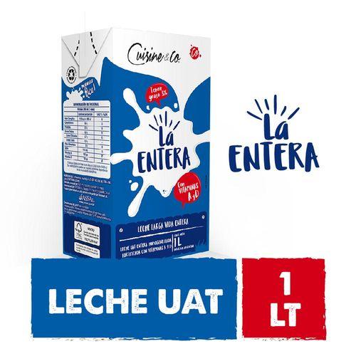 Leche Uat Entera 1 L Cuisine & Co