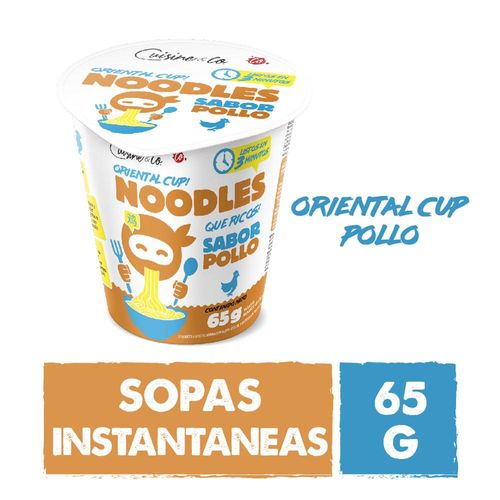 Sopa Instantánea Sabor Pollo 65 Gr Cuisine & Co