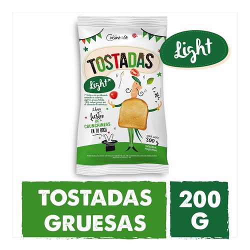 Tostadas Light 200gr Cuisine & Co