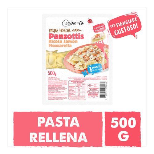 Panzotti Ricotta Jamon Muzza Cuisine & Co 500 Gr