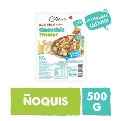 Noquis Tricolor Cuisine & Co X 500 Gr