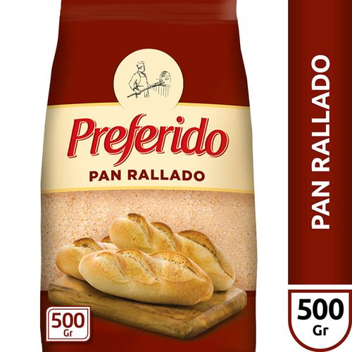 Pan Rallado Preferido X500 Gr