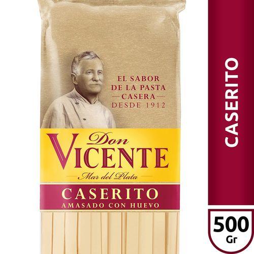 Fideos Al Huevo Caserito Don Vicente X500 Gr