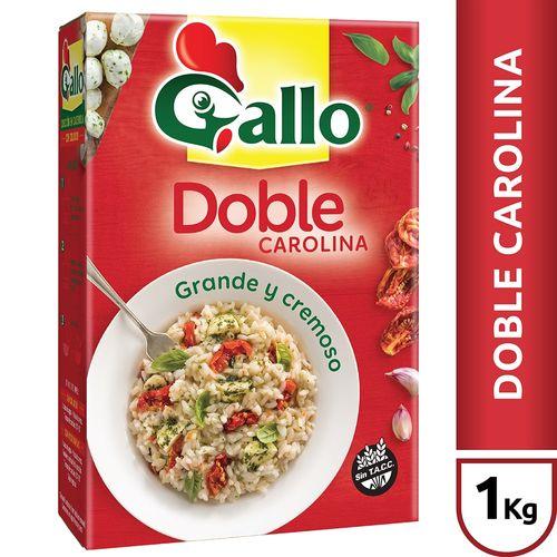 Arroz Doble Carolina Gallo X1 Kg