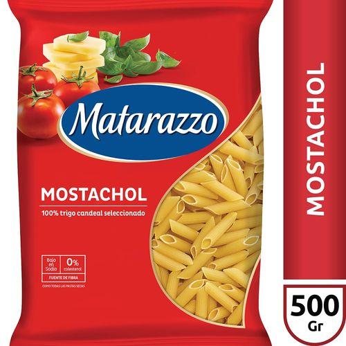 Fideos Mostachol Matarazzo X500 Gr