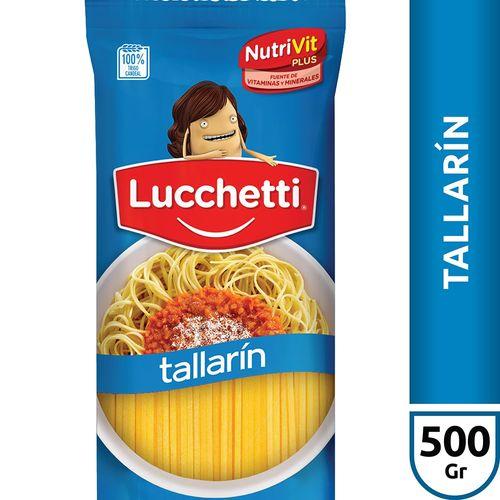 Fideos Tallarín Lucchetti X500 Gr
