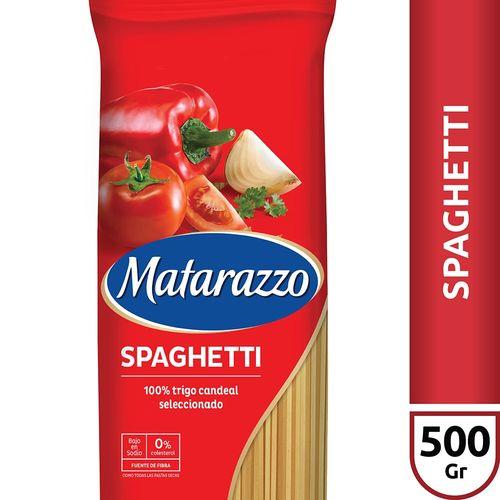 Fideos Spaghetti Matarazzo X500 Gr