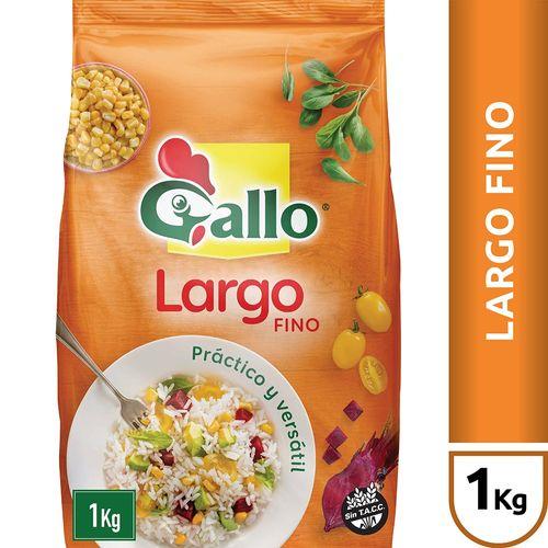 Arroz Largo Fino Gallo X 1 Kg