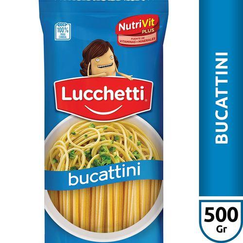 Fideos Bucattini Lucchetti X500 Gr