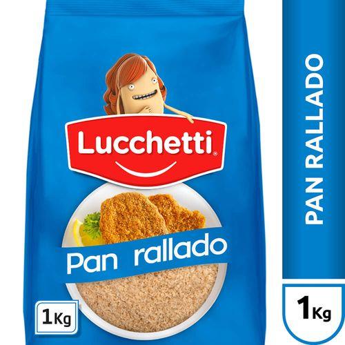 Pan Rallado Lucchetti X1 Kg