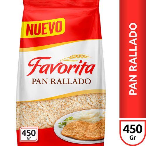 Pan Rallado Favorita X450 Gr