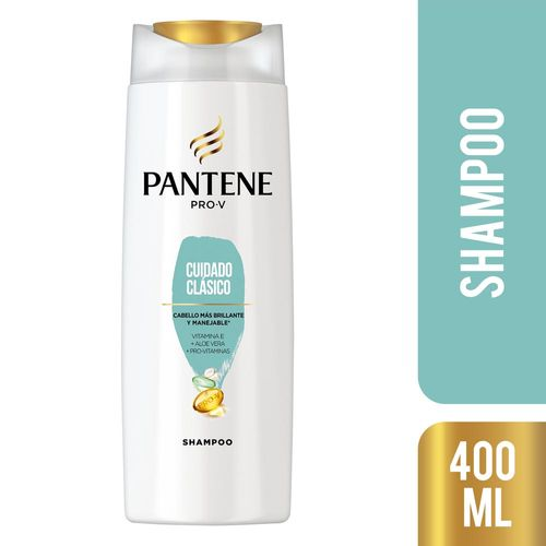 Shampoo Pantene Cuidado Clasico 400ml