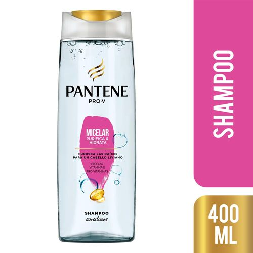 Shampoo Pantene Pro-v Micelar 400 Ml