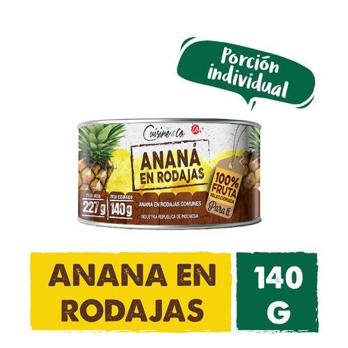 Ananá En Rodajas Cuisine & Co 140 Gr