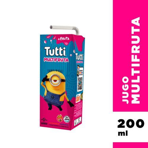 Jugo Tutti Multifruta 200 Ml