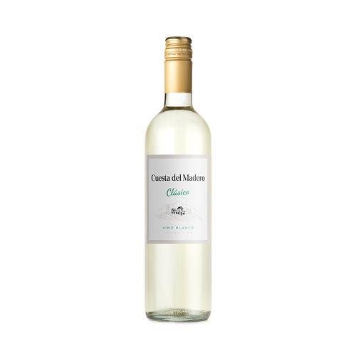 Vino Blanco Fino Cuesta Del Madero 750 Cc