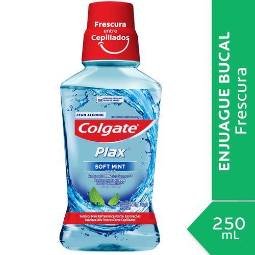 Enjuague Bucal Colgate Plax Soft Mint 250 Ml