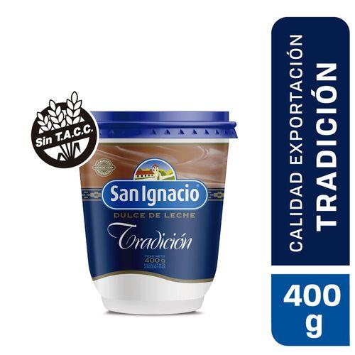 Dulce De Leche San Ignacio Tradición Y Artesanía 400 Gr