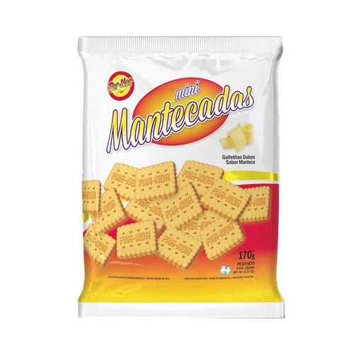 Galletitas Mini Mantecadas 170 Gr
