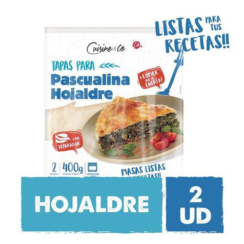 Tapas Pascualina  Hojaldre 2 Un C&co