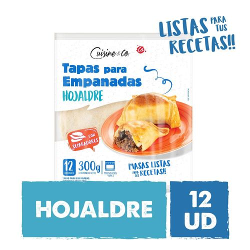 Tapas Empanadas Cuisine&co X 12 U