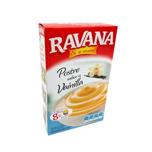 Postre Ravanna Vainilla 120 Gr