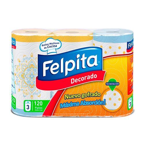Rollo De Cocina Felpita Decoré 3 X 40